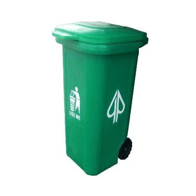 120 litre Plastic Waste Bin