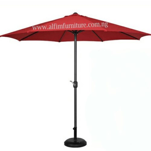 garden centre pole umbrella