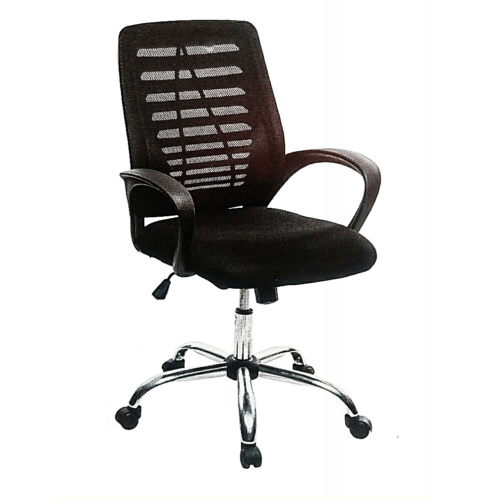 mesh back swivel office chair