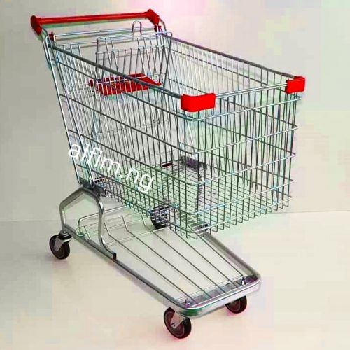 supermarket shopping trolley cart