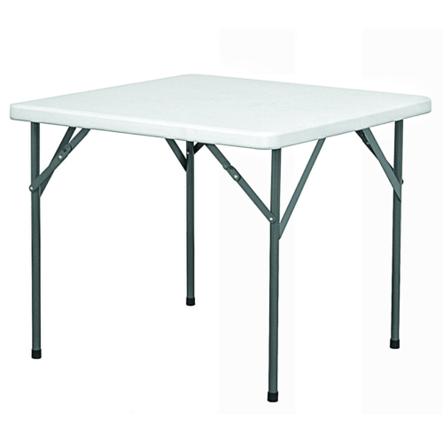 foldable plastic top table