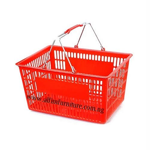 shopping plastic baskets