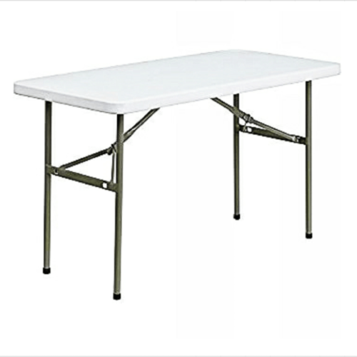 4-seater restaurant plastic folding table