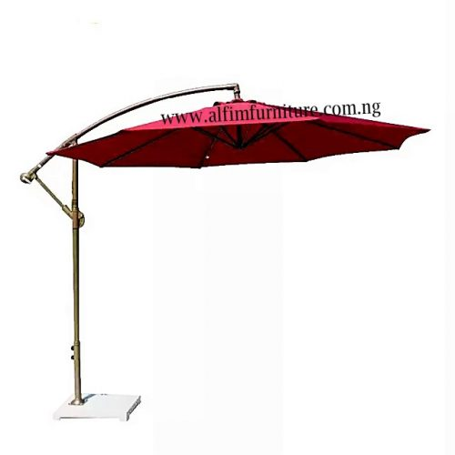 garden cantilever umbrella parasol