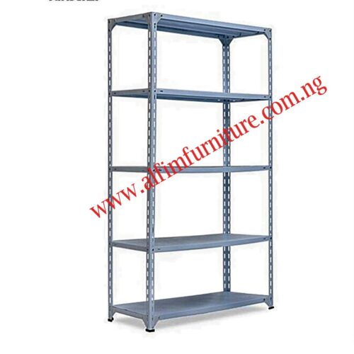 bolted storage shelving rack