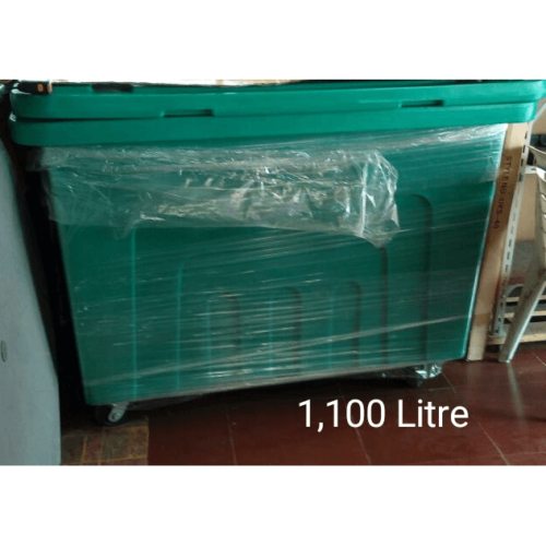 GeePee Plastic Wheelie Waste Bin