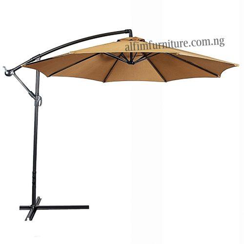 outdoor hanging umbrella parasol