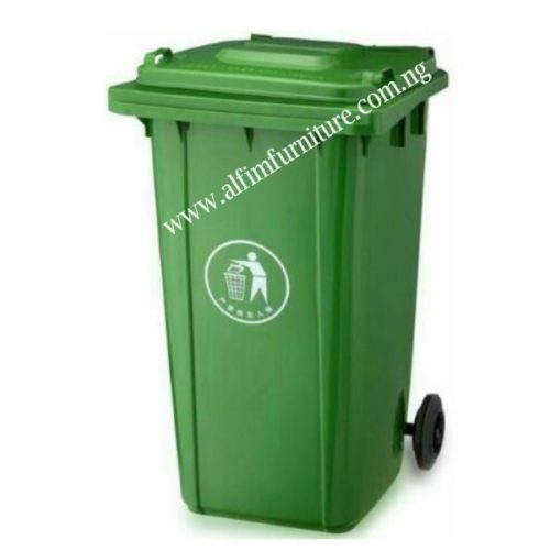 plastic waste disposal recycle bin