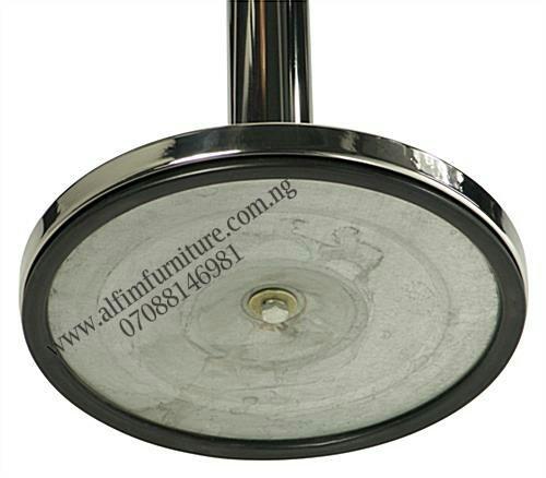 retractable belt stanchion barrier aluminum base