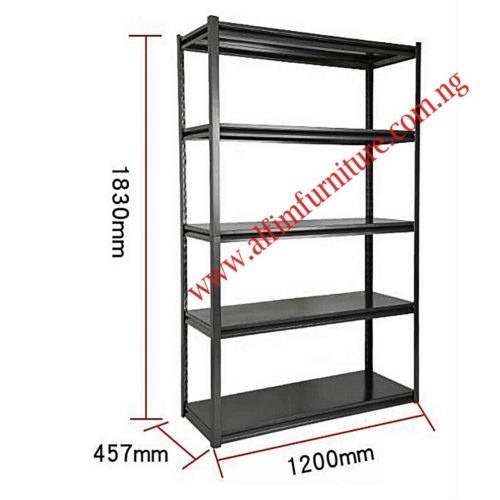 rivet steel shelving