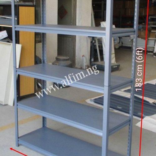 rivet steel shelving