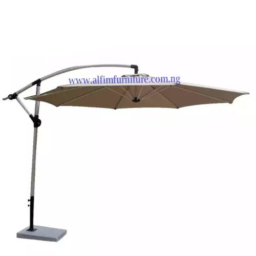 offset beach umbrella canopy