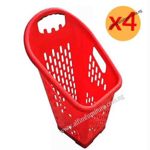 supermarket basket trolley