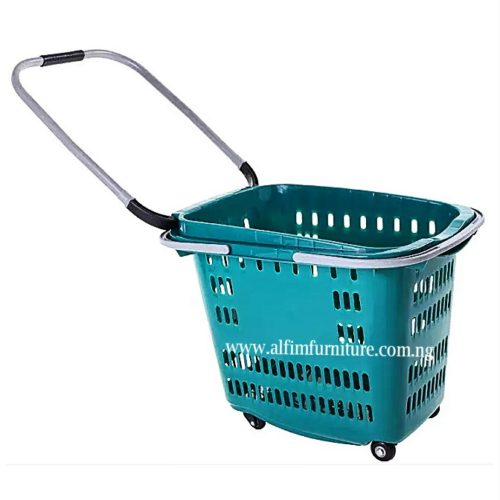 shopping basket trolley