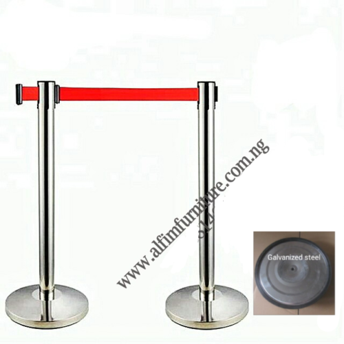 crowd barrier stanchion