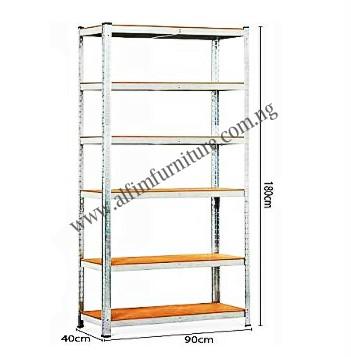 6 layer adjustable shelf