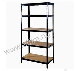 boltless steel storage rack